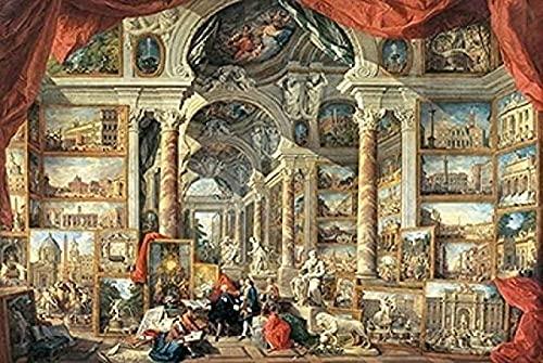 puzzel 1000 stks diy creatieve puzzel, kind puzzels speelgoed leren puzzels voor volwassen puzzel, Romeins museum 1000-delig
