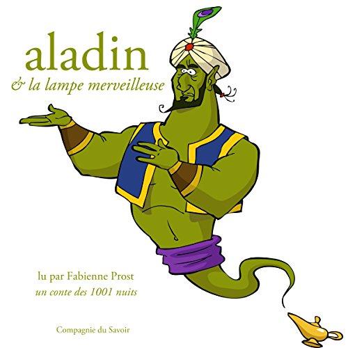 Page de couverture de Aladin et la lampe merveilleuse, un conte des 1001 nuits