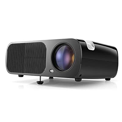 Video Projector, HD Projector for Analog TV, DV...