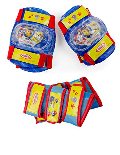 PAW PATROL Kinder OPAW003 D\'arpeje Safety Set 3 Pads, deep Blue/Yellow/Red, S