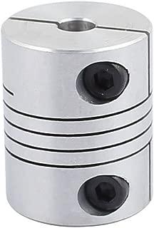 X-Dr 20mm Diameter 25mm Length 6mmx8mm Aluminum Alloy Spline Shaft Flexible Helical Coupling (6bde1cdd-a222-11e9-8d7c-4cedfbbbda4e)