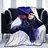 Eileen Powell Coperte da Lancio Decorative Volanti singhiozzo, Coperta da Viaggio Ultra Morbida Invernale 80 * 60 Pollici