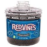 Red Vines レッドバインズ ブラック リコリッシュ 1588g [並行輸入品]
