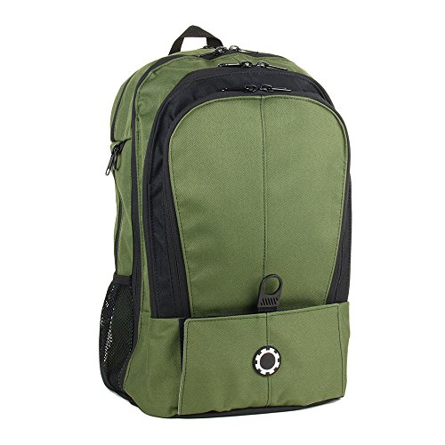 DadGear Backpack Diaper Bag - All Forest Green