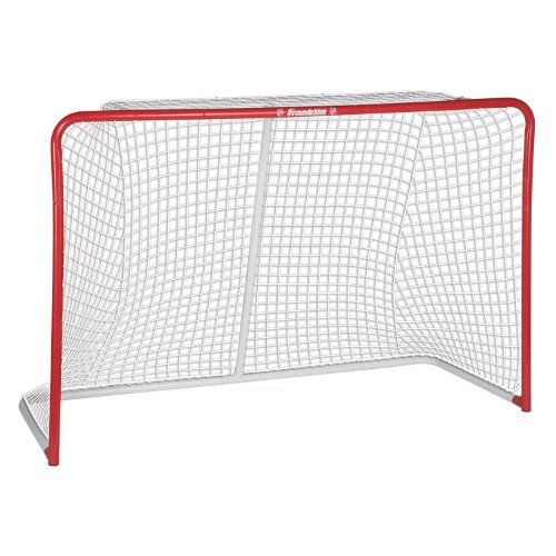 Franklin Sports Street Hockey Goal - Official Regulation Steel Hockey Net - Street Hockey Goal Set - 72
