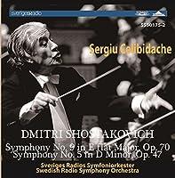 Shostakovich: Symphony No. 9, Symphony No. 5 by Sergiu Celibidache