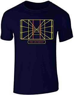 Stay On Target Targeting Computer SciFi Short Sleeve T-Shirt