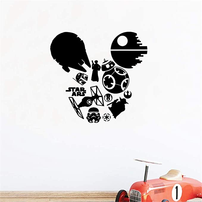 Mirror Mirror on the Wall Decal//Autocollant-Choisir Couleur et Taille-Disney police