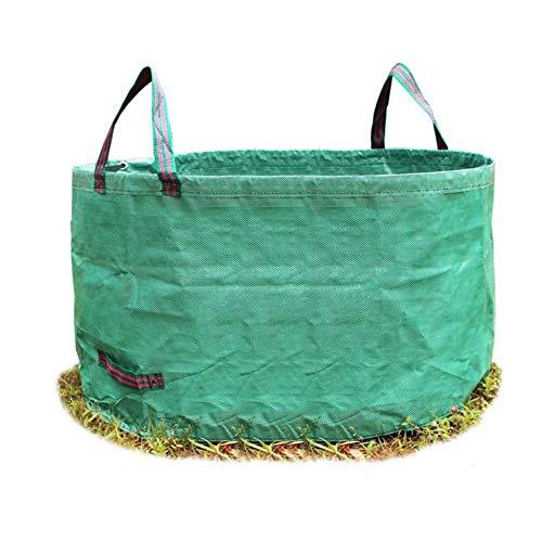 Guomao Gallons - Contenedores de jardín reutilizables, reutilizables, 4 asas, bolsa de basura duradera