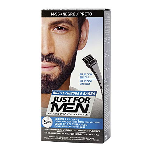 Just For Men, Tinte Colorante en gel para barba y bigote