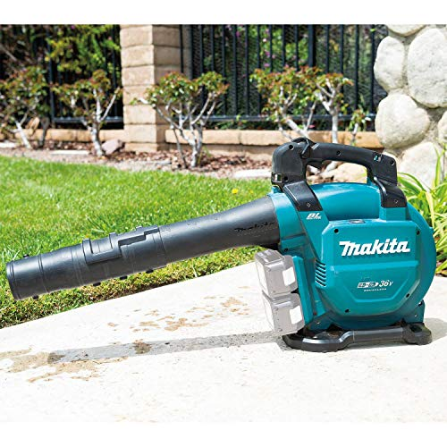 Makita XBU04ZV Lithium-Ion Brushless Cordless, Tool Only 18V X2 (36V) LXT Blower with Vacuum Attachment Kit, Teal