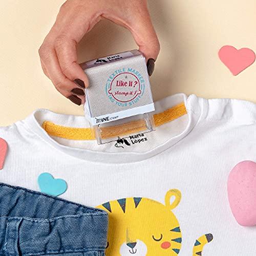 Marcador ropa niños personalizado sello infantil guardería