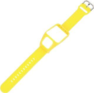 POPETPOP Watchband Replacement Watch Strap Compatible For Runner3/ adventure (Yellow)