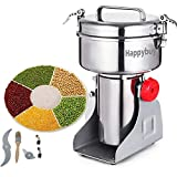 Best Electric Grain Mills - Happybuy Electric Grain Grinder 2000g Pulverizer Grinding Machine Review
