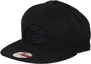 New Era Black On Black Snapback Cap 9fifty