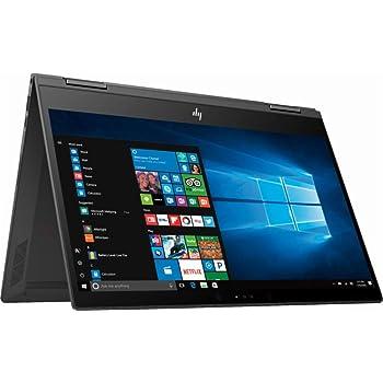 "Newest HP Envy X360 2-in-1 13.3"" FHD IPS Touchscreen Thin and Lightweight Laptop, AMD Ryzen 5 Quad-core 2.0 GHz, 8GB DDR4 RAM, 512GB SSD, Backlit Keyboard, USB-C, WiFi, Bluetooth, Windows 10"
