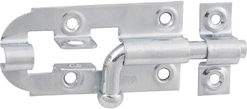 """Fechadura redondo 5"""" aço carbono zincado pacote 12 peças - Vonder"""