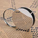 Mini Magnifying Glass 20X Folding Pocket Magnifier with Metal Protective Case Foldable Reading Magnifying Glass Portable Pocket Magnifying Glass for Reading, Inspection, Jewelry, Coins, Hobby, Travel