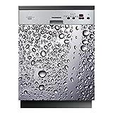 Stickers Lave Vaisselle Goutte d'eau - LAV-128-60x60 cm