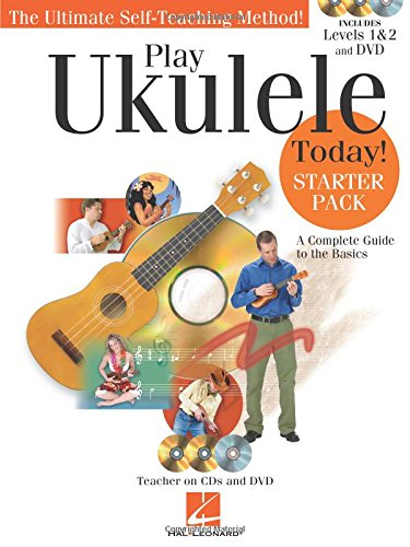 Play Ukulele Today! - Starter Pack: Includes Levels 1 & 2 Book/CDs and a DVD