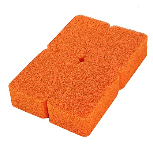 ARCLIBER Silicone Scrubber Sponge - Kitchen and Dish Scrubber - Heavy Duty Silicone Sponge (12 Pack)