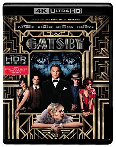The Great Gatsby (4K UHD + Blu-ray + Digital) $12.96 - $12.96