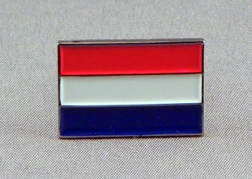 Mainly Metal Metall-Brosche, Emaille, Niederlande Flagge, Holland