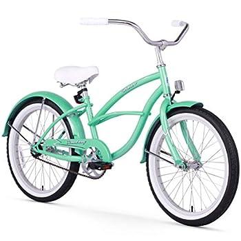 Firmstrong Urban Girl Single Speed Beach Cruiser Bicycle 20-Inch Mint Green