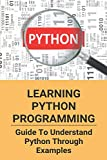 Learning Python Programming: Guide To Understand Python Through Examples: Python For Beginner Tutorial