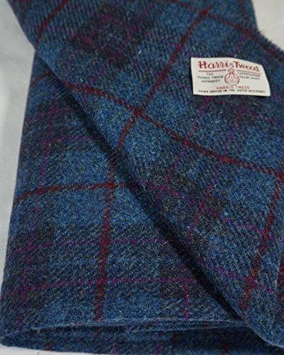 Authentic Harris Tweed Stoff 100% reine Wolle mit Etiketten.. 75cm x 50cm –-Nr. sep62–--...