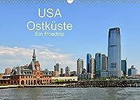 USA Ostkueste Ein Road Trip (Wandkalender 2022 DIN A3 quer): Mit diesen Bildern erwartet Sie ein fantastisches Abenteuer durch die Oststaaten der USA (Monatskalender, 14 Seiten )