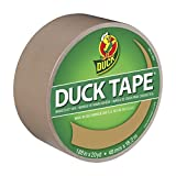 Duck 283264 Color Duct Tape Beige, 1.88 Inches x 20 Yards, Single Roll