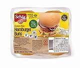 Schar Gluten Free Hamburger Buns, 10.6oz Bag (Pack of 2)