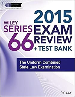 Wiley Series 66 Exam Review 2015 + Test Bank: The Uniform Combined State Law Examination (Wiley FINRA) by Inc. The Securities Institute of America (2014-10-27)