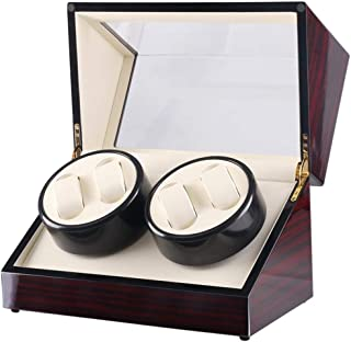 Watch Automatic Watch Winder Box Watch with 4 Winder Positions, Fashion Watch (Color : Box)
