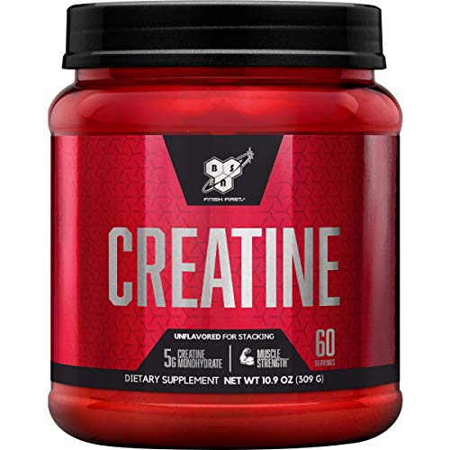 BSN Micronized Creatine Monohydrate Powder,...