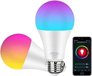 Lâmpada Avatto Led Inteligente 15w RGB E27 wifi, regulável com aplicativo Smart Life e Tuya, controle de voz para Google H...