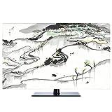 TV Nuovo Cinese Antipolvere Proteggi I Televisori TV LCD Display (Color : Sea of Clouds, Size : 40inch)