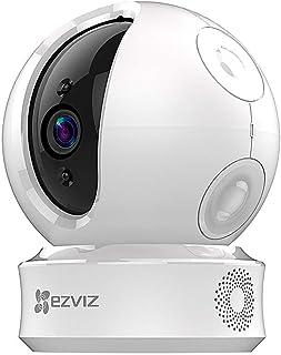 EZVIZ EZ360 720P Cámara de Seguridad Pan/Tilt Wi-Fi con Visión Nocturna Audio Bidireccional Máscara de Privacidad Inteligente Servicio de Nube Disponible Compatible con Alexa Google Home y IFTTT