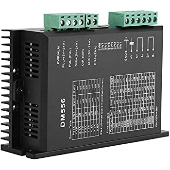 UCONTRO HY-DIV268N-5A CNC Single Axis 2-Phase TB6600 Hybrid Stepper Motor Driver 0.2A~5A DC 12~48V could Drive 34 42 57 76 86 Stepper Motors
