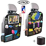 Backseat Car Organizer with 4 USB Charging Port, 11'' Touch Screen...