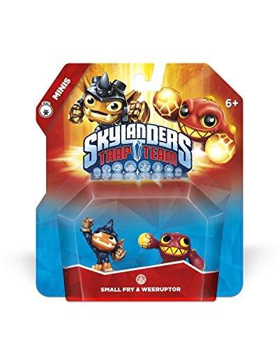 Skylanders Mini Trap Team Double - Pequeño Fry & Weeruptor.