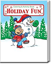 Holiday Fun Kid's Coloring & Activity Books in Bulk (25-Pack)