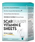 ScarGuard Scarsheet Nearly Invisible Silicone Scar Sheets, 21 Count