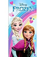 Disney Frozen Kids Beach Towel - 70X140 cm - Multicoloured