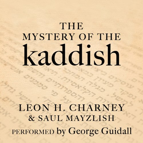 The Mystery of the Kaddish audiobook cover art
