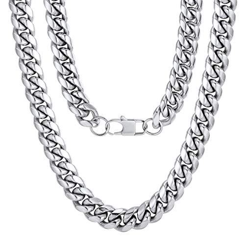 Heavy Stainless Steel Chain for Mens Jewelry 14MM 22inch Christmas Gifts for Dad