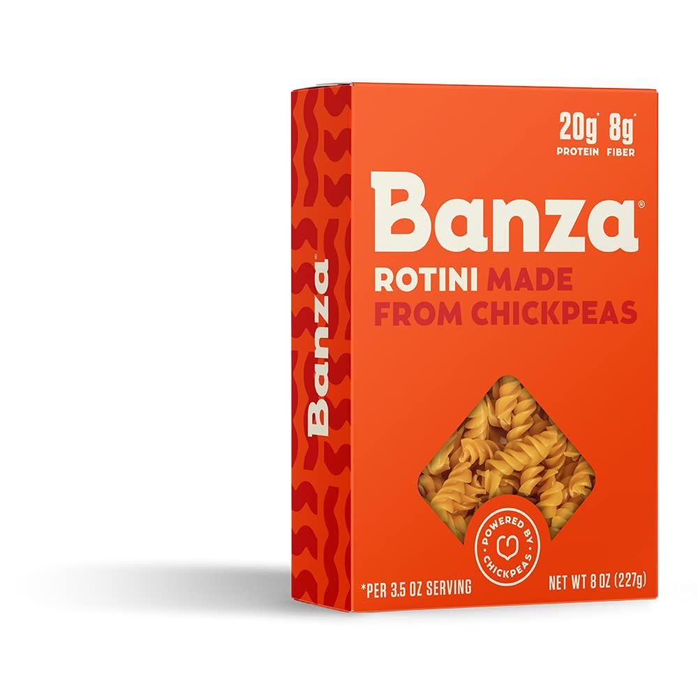 Ranking TOP1 Banza Chickpea Pasta 8 Rotini Bargain sale oz
