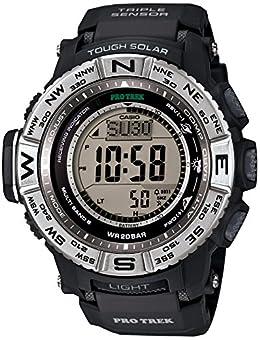 [カシオ] 腕時計 プロトレック 電波ソーラー PRW-3500-1JF ブラック