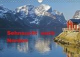 Sehnsucht nach Norden (Wandkalender 2019 DIN A4 quer): Norwegens und Islands faszinierende Sehnsuchtlandschaften werden im Wandel der Jahreszeiten ... (Monatskalender, 14 Seiten ) (CALVENDO Natur) - Reinhard Pantke